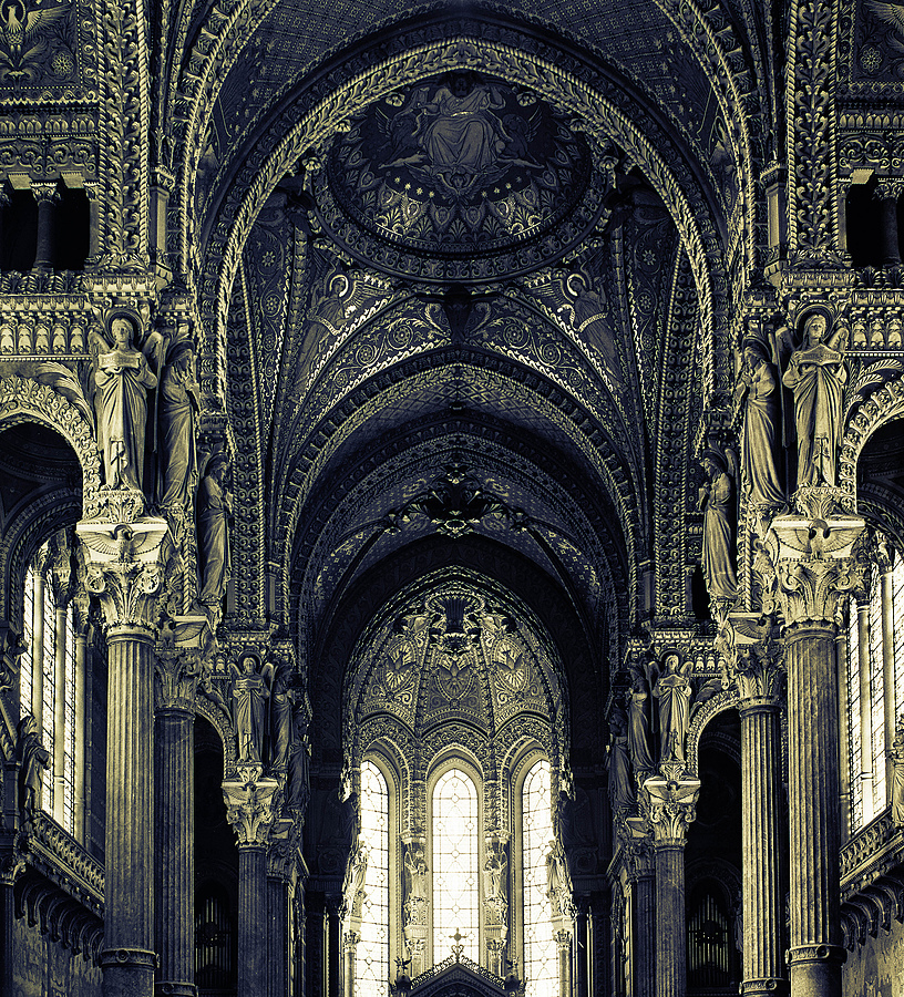 Cathedral de Lyon | ZEISS F PLANAR 2.8/80 <br> Click image for more details, Click <b>X</b> on top right of image to close
