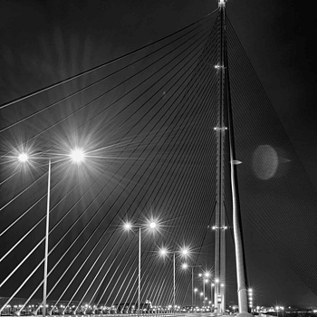 Bridge at night | ZEISS SONNAR 55MM F1.8 FE ZA <br> Click image for more details, Click <b>X</b> on top right of image to close