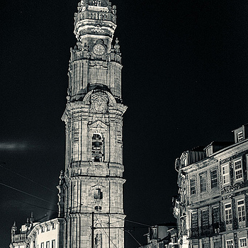 Torre de los Clerifos en Oporto -Portugal- | ZEISS SONNAR 55MM F1.8 FE ZA <br> Click image for more details, Click <b>X</b> on top right of image to close