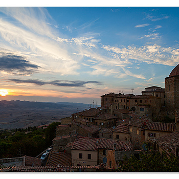 Last sunshine, Volterra | ZEISS DISTAGON F2.8 21MM <br> Click image for more details, Click <b>X</b> on top right of image to close