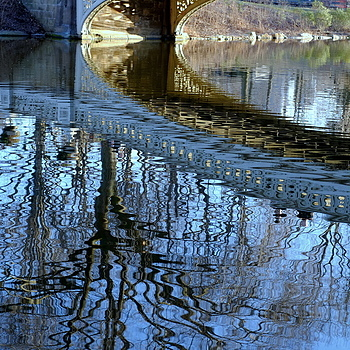 Bow Bridge - reflections