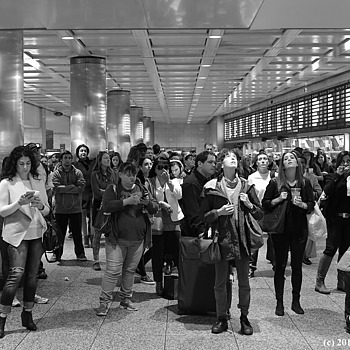 Penn Station. Manhattan, NYC. | ZEISS DISTAGON F2 28MM <br> Click image for more details, Click <b>X</b> on top right of image to close