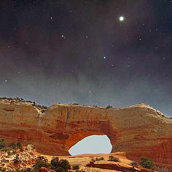 Wilson's Arch And Stars | LENS MODEL NOT SET <br> Click image for more details, Click <b>X</b> on top right of image to close