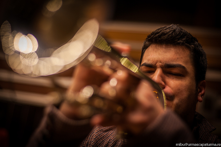 the trumpet player | ZEISS PLANAR F1.4 50MM <br> Click image for more details, Click <b>X</b> on top right of image to close