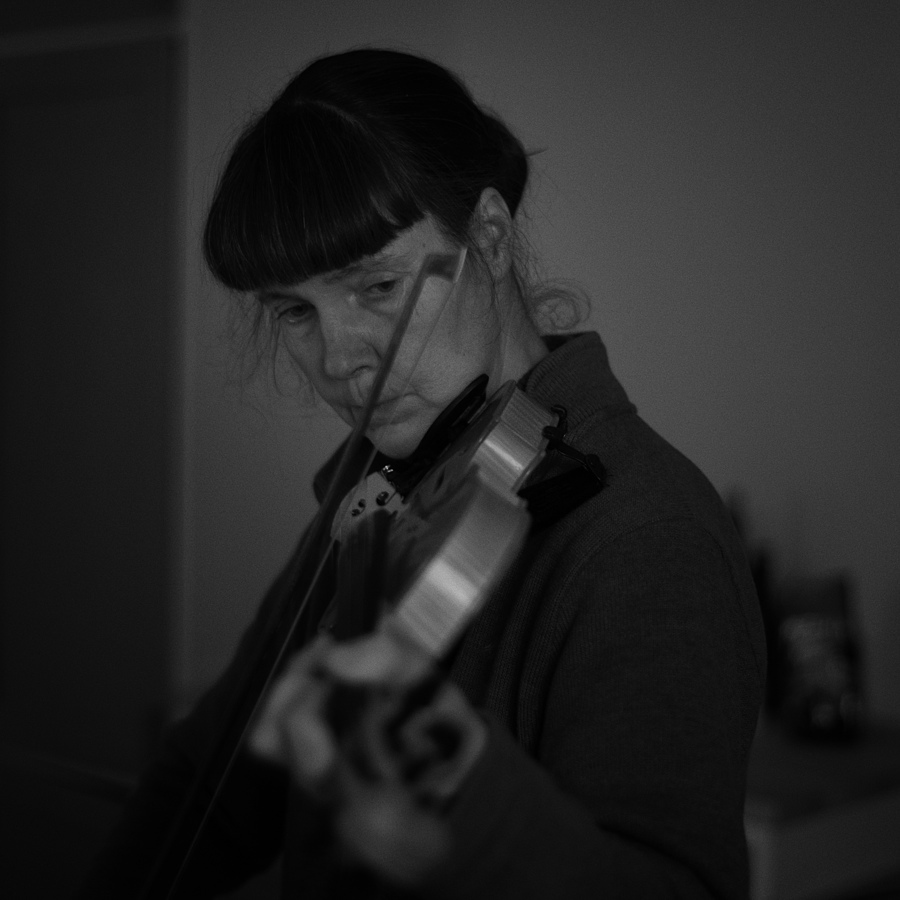 Practising the violin | ZEISS PLANAR F1.4 50MM <br> Click image for more details, Click <b>X</b> on top right of image to close