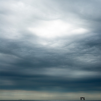 Stormy Sky, Sizewell, UK | ZEISS PLANAR F1.4 50MM <br> Click image for more details, Click <b>X</b> on top right of image to close
