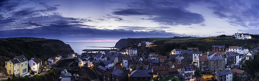 Staithes Panorama | ZEISS FE 35MM F2.8 ZA <br> Click image for more details, Click <b>X</b> on top right of image to close