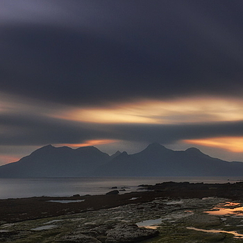 Eigg 7 minute Afterglow | LENS MODEL NOT SET <br> Click image for more details, Click <b>X</b> on top right of image to close
