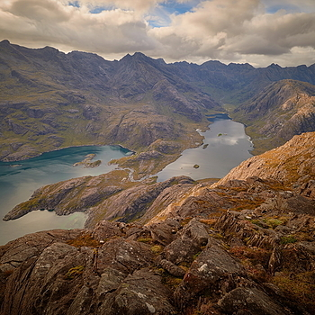 Summit view, Cuillin ridge panorama | LENS MODEL NOT SET <br> Click image for more details, Click <b>X</b> on top right of image to close