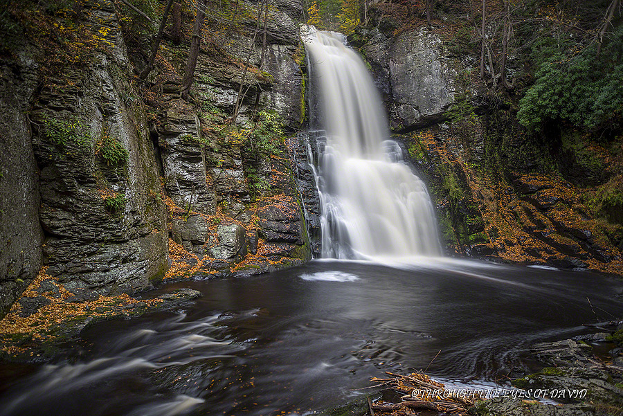 Bushkill falls | ZEISS ZA DISTAGON 24MM F2.0 <br> Click image for more details, Click <b>X</b> on top right of image to close