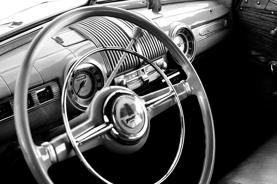 Postwar Ford Dash | ZEISS ZM PLANAR F2.0 50MM <br> Click image for more details, Click <b>X</b> on top right of image to close