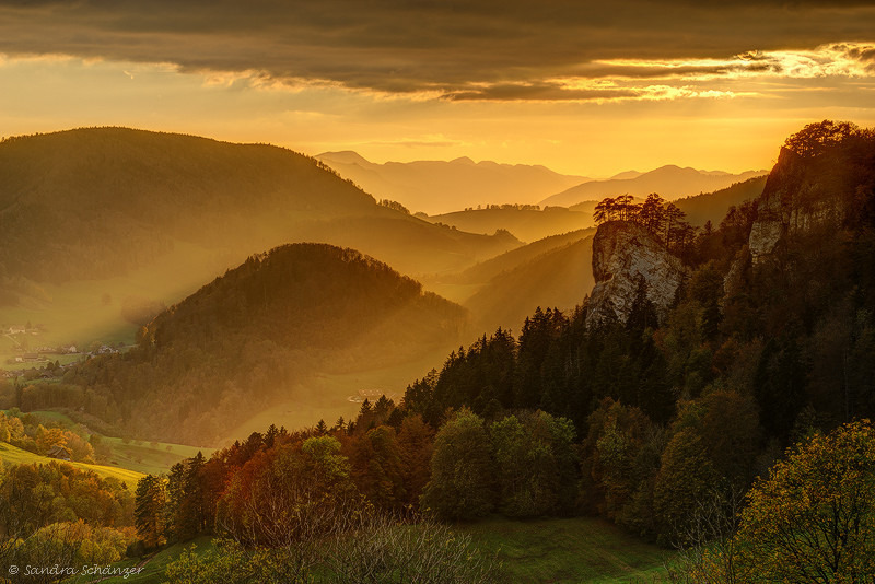 Swiss Jura in autumn | ZEISS PLANAR F1.4 85MM <br> Click image for more details, Click <b>X</b> on top right of image to close