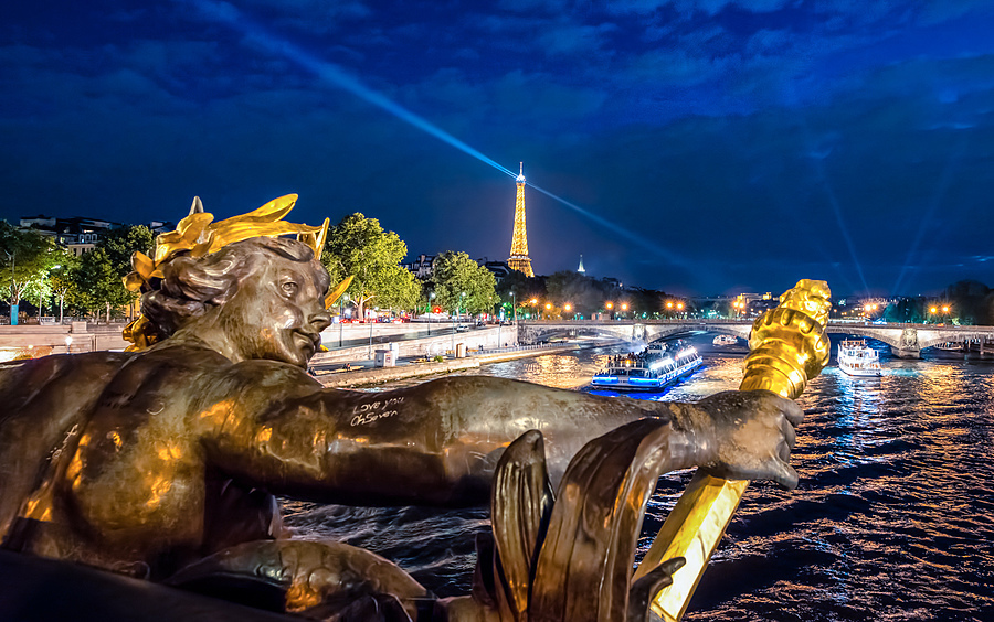 Pont Alexandre III, Paris | ZEISS DISTAGON F2.8 21MM <br> Click image for more details, Click <b>X</b> on top right of image to close