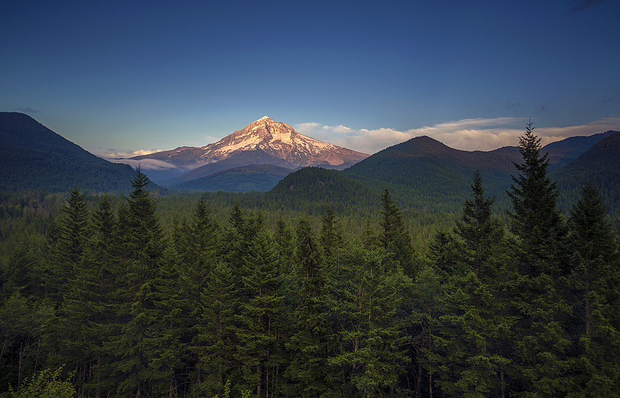 Mt. Hood from Lolo Pass | ZEISS DISTAGON F2.8 21MM <br> Click image for more details, Click <b>X</b> on top right of image to close