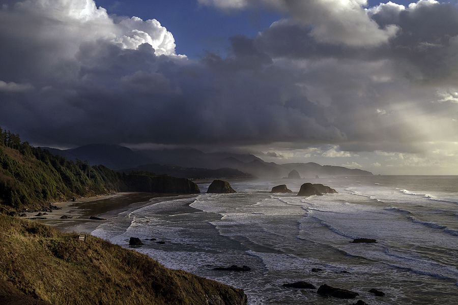 Clearing storm Oregon Coast | ZEISS ZEISS SONNAR 35MM F2 <br> Click image for more details, Click <b>X</b> on top right of image to close