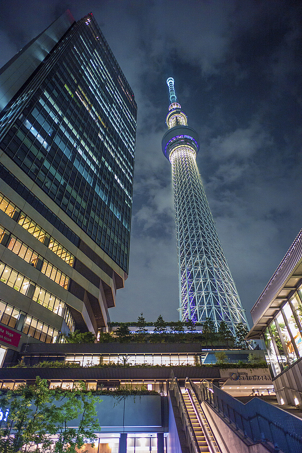 Tokyo Skytree | ZEISS G BIOGON 21MM F2.8 <br> Click image for more details, Click <b>X</b> on top right of image to close