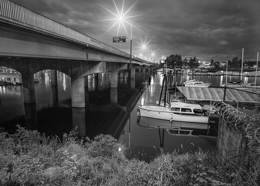 Hayden Island Bridge | ZEISS G BIOGON 21MM F2.8 <br> Click image for more details, Click <b>X</b> on top right of image to close