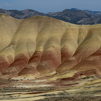 Painted Hills, Oregon | ZEISS DISTAGON F1.4 35MM <br> Click image for more details, Click <b>X</b> on top right of image to close