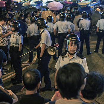 Occupy HK protestors | ZEISS ZEISS SONNAR 35MM F2 <br> Click image for more details, Click <b>X</b> on top right of image to close