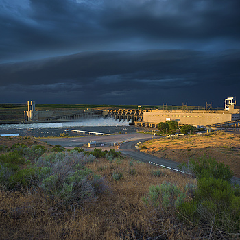 Ice Harbor Lock and Dam | ZEISS G BIOGON 21MM F2.8