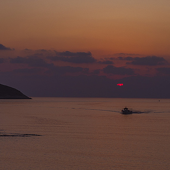 Sunset near Proti Island