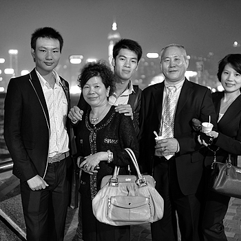 Chinese family HK