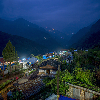 Blue hour Nepal | ZEISS G BIOGON 21MM F2.8