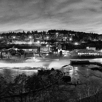 Willamette Falls pano | ZEISS DISTAGON F2.8 21MM