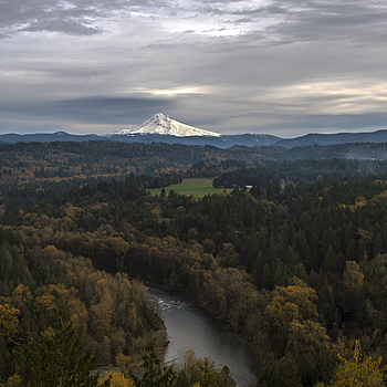 Mt. Hood and Sandy River | ZEISS DISTAGON F1.4 35MM