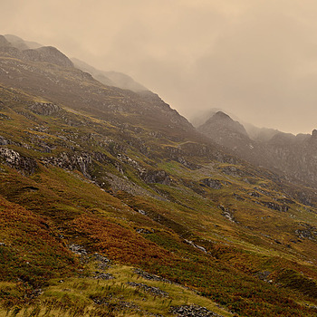 Mountainside, Glen Coe | LENS MODEL NOT SET <br> Click image for more details, Click <b>X</b> on top right of image to close
