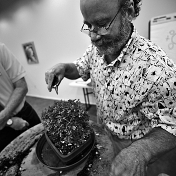 Rodney Clemons, Bonsai Artist | ZEISS DISTAGON F2.8 15MM <br> Click image for more details, Click <b>X</b> on top right of image to close