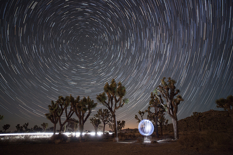 Joshua Tree Star Orb | ZEISS DISTAGON F2.8 21MM <br> Click image for more details, Click <b>X</b> on top right of image to close