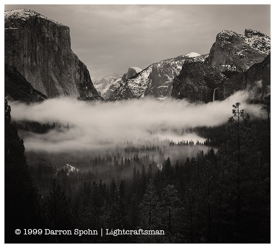 Yosemite Valley Fog | ZEISS CFE PLANAR 80MM F2.8 <br> Click image for more details, Click <b>X</b> on top right of image to close