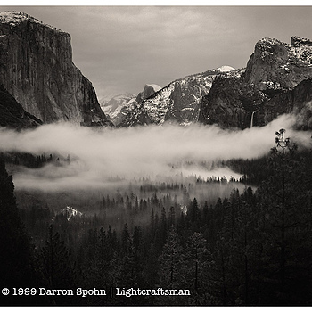 Yosemite Valley Fog | ZEISS CFE PLANAR 80MM F2.8
