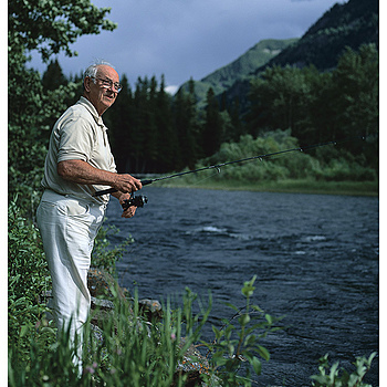 Dad Fishing, Montana | ZEISS CFE PLANAR 80MM F2.8