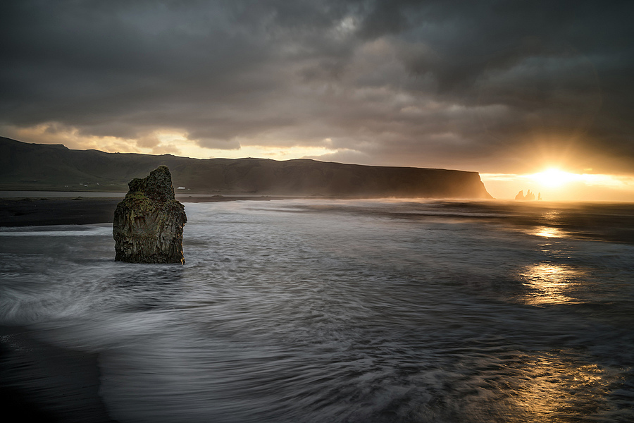 Vik Iceland Dyrholaey | ZEISS ZEISS SONNAR 35MM F2 <br> Click image for more details, Click <b>X</b> on top right of image to close