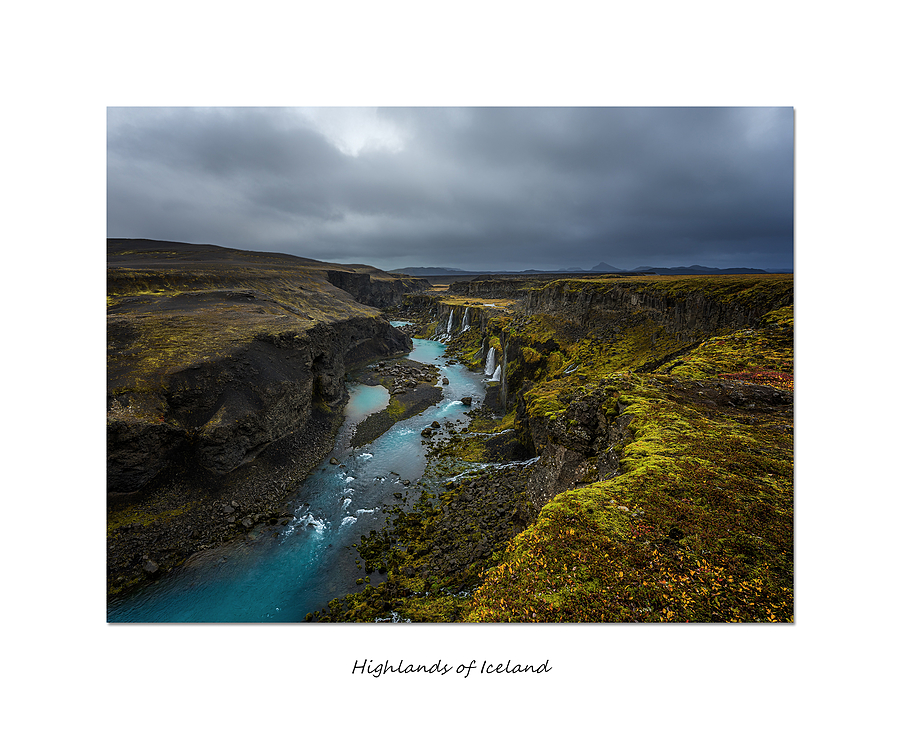 Sigöldugljufur Highlands of Iceland | LENS MODEL NOT SET <br> Click image for more details, Click <b>X</b> on top right of image to close