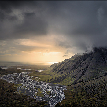 Vatnajokull Region in Southeast  Iceland | LENS MODEL NOT SET