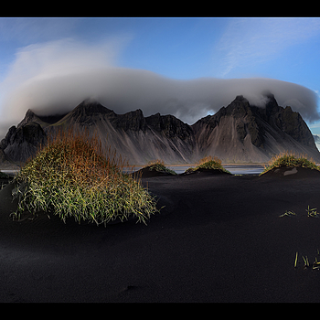 Vestrahorn in Iceland | LENS MODEL NOT SET