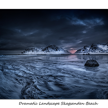 Skagsanden Beach Lofoten | LENS MODEL NOT SET <br> Click image for more details, Click <b>X</b> on top right of image to close