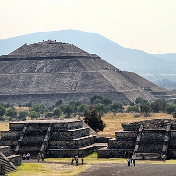Mexican Pyramids | ZEISS DISTAGON F2.0 35MM <br> Click image for more details, Click <b>X</b> on top right of image to close