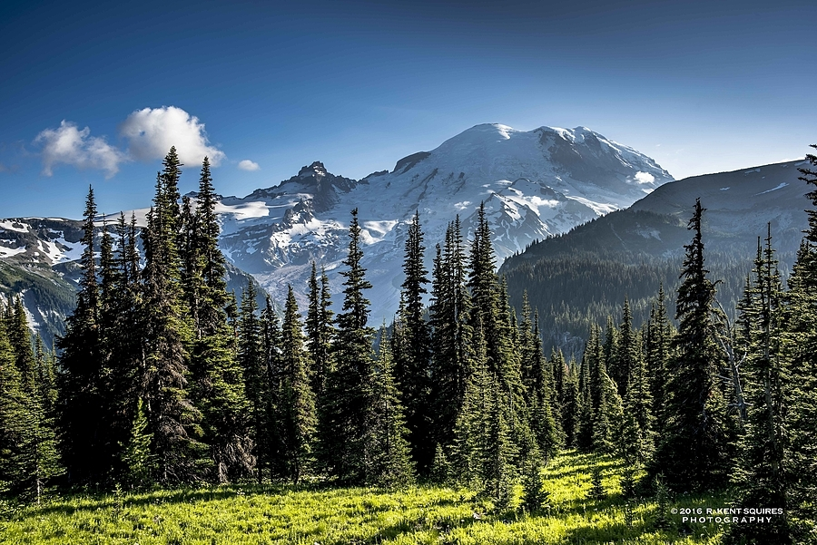 Mt. Rainier from Sunrise | ZEISS DISTAGON F2 25MM <br> Click image for more details, Click <b>X</b> on top right of image to close