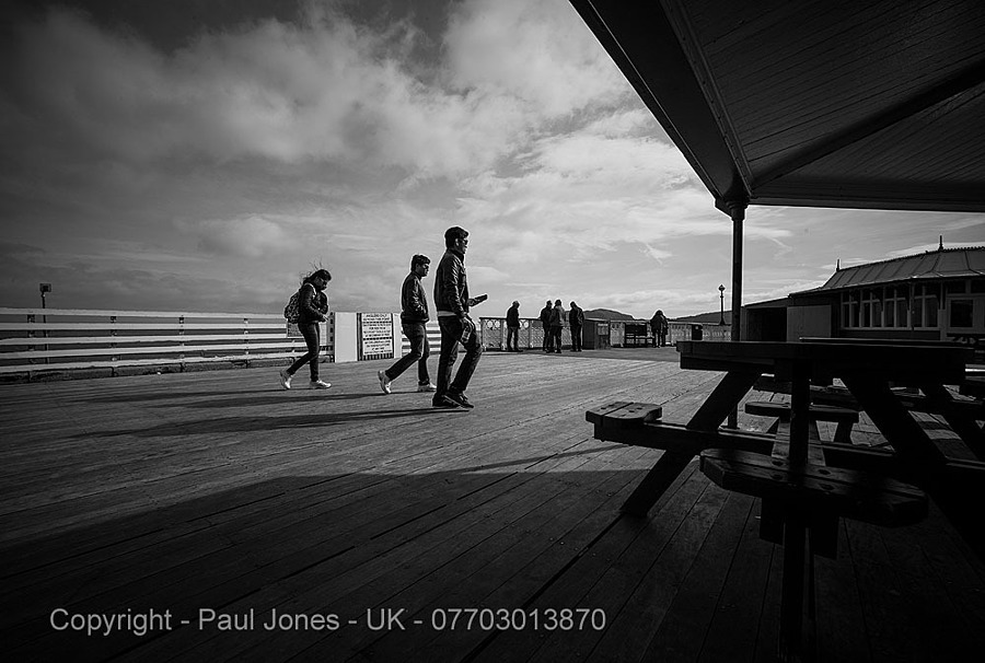 Llandudno Pier - N Wales UK | ZEISS ZM DISTAGON F2.8 15MM <br> Click image for more details, Click <b>X</b> on top right of image to close