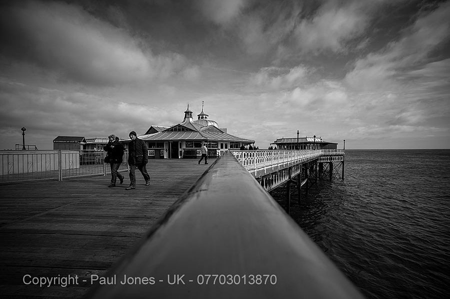 Llandudno Pier N Wales UK | ZEISS ZM DISTAGON F2.8 15MM <br> Click image for more details, Click <b>X</b> on top right of image to close