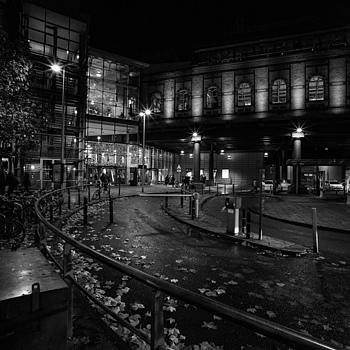 Manchester UK at Night | ZEISS ZM DISTAGON F2.8 15MM <br> Click image for more details, Click <b>X</b> on top right of image to close