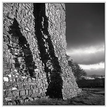 Tretower Castle - 3.5F first roll | ZEISS PLANAR 75MM F3.5 TLR <br> Click image for more details, Click <b>X</b> on top right of image to close