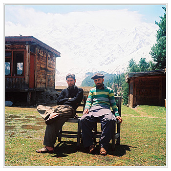 Mr Mujahid and Mr Sabir by Nanga Parbat | ZEISS PLANAR 75MM F3.5 TLR