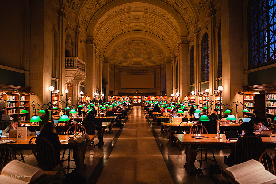 Boston Public Library | LENS MODEL NOT SET <br> Click image for more details, Click <b>X</b> on top right of image to close