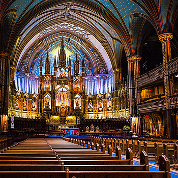 Notre-Dame Basilica in Montreal | LENS MODEL NOT SET <br> Click image for more details, Click <b>X</b> on top right of image to close