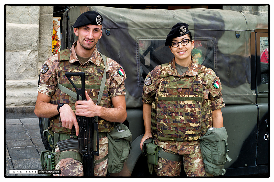 Soldiers, Bologna , Italy | ZEISS ZM BIOGON F2.0 35MM <br> Click image for more details, Click <b>X</b> on top right of image to close